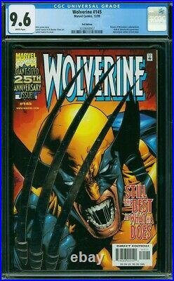 Wolverine #145 Vol 1 Cgc 9.6 Silver Foil Claws