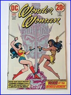 Wonder Woman #206 VFN+ (8.5) DC (Vol 1 1973) Origin of Nubia