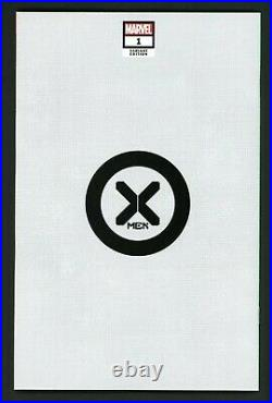 X-Men #1 Vol 6 2021 J Scott Campbell Rogue Negative Space Variant NM 1798/2500