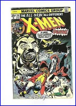 X-Men #94 1st New Team in Series, Wolverine, Storm, 4.0 VG, vol. 1, 1975 Marvel