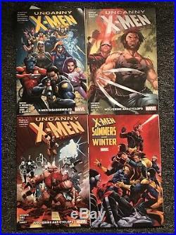 X-Men Gold Vol. 1 2 3 4 5 6 7 Uncanny Black Red Marvel Graphic Novel TPB Lot
