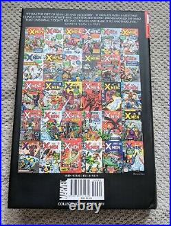 X-Men Omnibus Vol 1 Signed by Stan Lee NEW MINT Jack Kirby Cover Marvel 1 print
