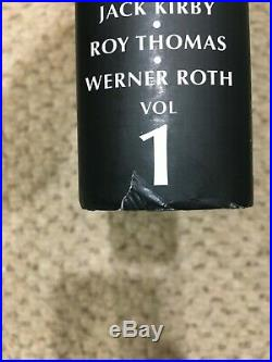 X-Men Omnibus volume 1 DM Direct Market Variant Cover Lee Kirby RARE, OOP Marvel