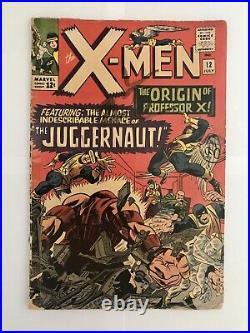 X Men Vol 1 #12 1st Appearance Of Juggernaut (cents) Key