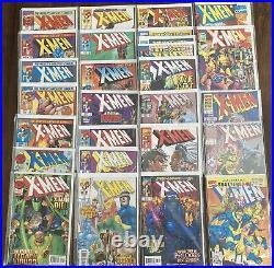 X-Men Vol. 2 (Marvel, 1991) High Grade Comic Books Lot of 94- Key Issues Incl