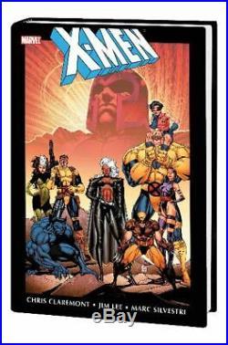 X-men By Chris Claremont & Jim Lee Omnibus Hc Vol 01 New Ptg Marvel Comics 81020