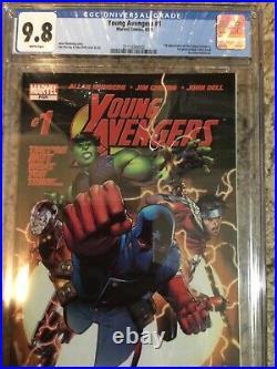 Young Avengers 1 Vol 1 CGC 9.8 1st Kate Bishop, 1st Hulkling, 1st Patriot Etc