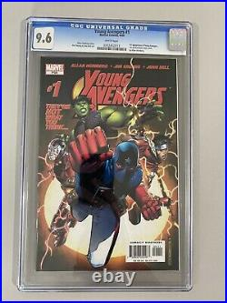 Young Avengers Vol. 1 #1 CGC 9.6 1st Patriot Kate Bishop Iron Lad Wiccan MCU KEY